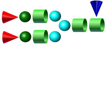 A2F 2-AA Glycan