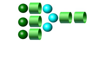 NA3 2-AA glycan