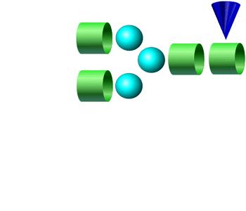 NGA2F 2-AA glycan